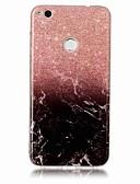ราคาถูก เคสสำหรับ iPhone-Case สำหรับ หัวเว่ย P9 Lite / Huawei / หัวเว่ย P8 Lite P10 Plus / P10 Lite / Huawei P9 Lite IMD ปกหลัง Marble Soft TPU