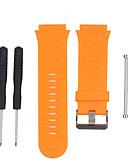 ราคาถูก วง Smartwatch-สายนาฬิกา สำหรับ Forerunner 920XT Garmin สายยางสำหรับเส้นกีฬา ยางทำจากซิลิคอน สายห้อยข้อมือ