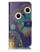 ราคาถูก เคสสำหรับโทรศัพท์มือถือ-Case สำหรับ Samsung Galaxy S8 Plus / S8 / S7 edge Wallet / Card Holder / with Stand ตัวกระเป๋าเต็ม นกฮูก Hard หนัง PU