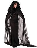 Χαμηλού Κόστους μακιγιάζ βούρτσα σύνολα-Angel & Devil Κοστούμια με Θέμα Ταινίες & Τηλεόραση Στολές Ηρώων Κοστούμι πάρτι Γυναικεία Halloween Απόκριες Γιορτές / Διακοπές Πολυεστέρας Γυναικεία Αποκριάτικα Κοστούμια Μονόχρωμο