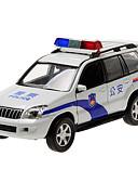 זול כבל & מטענים iPhone-CAIPO מכוניות צעצוע דגם רכב רכב משטרה SUV קלאסי סימולציה מוסיקה ואור רכבי משיכה אחורה קלסי בנים בנות צעצועים מתנות