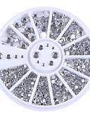 Χαμηλού Κόστους Στρας&Διακοσμητικά-1 pcs Κοσμήματα Νυχιών Για τέχνη νυχιών Μανικιούρ Πεντικιούρ Καθημερινά Μοντέρνα / Κοσμήματα νυχιών