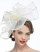 ราคาถูก หมวกสตรี-สุทธิ Kentucky Derby Hat / fascinators / หมวก กับ 1 งานแต่งงาน / โอกาสพิเศษ หูฟัง