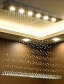 billige Brudepikekjoler-6-Light Skyllmonteringslys Omgivelseslys Krom Krystall Krystall 110-120V / 220-240V Varm Hvit / Hvit / GU10