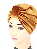ราคาถูก หมวกสตรี-สำหรับผู้หญิง ลายต่อ ฝ้าย สีผสม,หมวก ดอกไม้-หมวกปีกกว้าง ฤดูใบไม้ผลิ & ฤดูใบไม้ร่วง ฤดูร้อน สีม่วง อาร์มี่ กรีน สีน้ำเงินกรมท่า