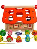 ราคาถูก สูท-Building Blocks Toys สนุก ทำด้วยไม้ สำหรับเด็ก ชิ้น