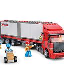 ราคาถูก สูท-รถของเล่น Building Blocks ของเล่นชุดก่อสร้าง ของเล่นการศึกษา รถบัส สนุก คลาสสิก ทุกเพศ เด็กผู้ชาย เด็กผู้หญิง Toy ของขวัญ