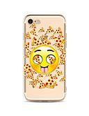 Χαμηλού Κόστους Αξεσουάρ Samsung-tok Για Apple iPhone X / iPhone 8 Plus / iPhone 8 Διαφανής / Με σχέδια Πίσω Κάλυμμα Φαγητό / Κινούμενα σχέδια Μαλακή TPU