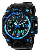 Χαμηλού Κόστους Αθλητικό Ρολόι-SKMEI Ανδρικά Ψηφιακό ρολόι Αθλητικό Ρολόι Στρατιωτικό Ρολόι Μοδάτο Ρολόι Ρολόι Καρπού Ιαπωνικά Χαλαζίας Συναγερμός Ημερολόγιο