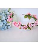 baratos Vestidos para Damas de Honra Junior-Algodão Headbands / Flores com 1 Casamento / Ocasião Especial / Aniversário Capacete