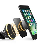 Χαμηλού Κόστους Zentai-ziqiao καθολική κάτοχος κινητού τηλεφώνου μαγνητική αεραγωγού mount stand 360 περιστροφή κινητό τηλέφωνο περιστροφής για τηλέφωνο iphone samsung