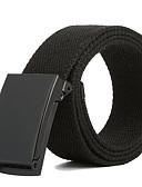 Χαμηλού Κόστους Men's Belt-Ανδρικά Μονόχρωμο Κλασσικό & Διαχρονικό Ζώνη μέσης