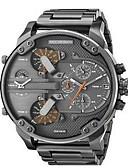 ราคาถูก นาฬิกาข้อมือหรูหรา-สำหรับผู้ชาย นาฬิกาข้อมือ ที่มีขนาดใหญ่ สแตนเลส ดำ / ทอง ปฏิทิน Creative แสดงสองเวลา ระบบอนาล็อก เสน่ห์ ความหรูหรา คลาสสิก ไม่เป็นทางการ กำไล - Rose Gold Black / Silver Silver / Blue / สองปี / สองปี