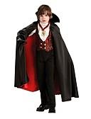 ราคาถูก เสื้อเอวลอยสำหรับผู้หญิง-Vampires คอสเพลย์ Halloween Props Masquerade สำหรับเด็ก วันฮาโลวีน เทศกาลคานาวาล Festival / Holiday Terylene Elastane ชุดเทศกาลคานาวาว Vintage / Top / เสื้อคลุม