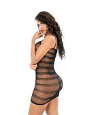 Χαμηλού Κόστους σέξι Σώματα-Γυναικεία Δίχτυ Κορμάκι Πυτζάμες Μονόχρωμο Μαύρο Ρουμπίνι Φούξια Ένα Μέγεθος