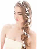 זול הינומות חתונה-דמוי פנינה רצועות / שרשרת ראש עם 1 חתונה / אירוע מיוחד / יום הולדת כיסוי ראש