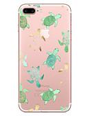 Χαμηλού Κόστους Θήκες iPhone-tok Για Apple iPhone X / iPhone 8 Plus / iPhone 8 Διαφανής / Με σχέδια Πίσω Κάλυμμα Ζώο Μαλακή TPU