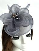 ราคาถูก เครื่องประดับผมผู้หญิง-สุทธิ fascinators / หมวก / วิถี Birdcage กับ 1 งานแต่งงาน / โอกาสพิเศษ หูฟัง