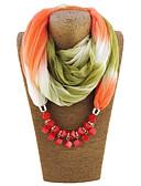 ราคาถูก ผ้าคลุมไหล่-สำหรับผู้หญิง สายรุ้ง เส้นใยสังเคราะห์ ลายพิมพ์ พ้าพันคอของยี่ห้อ Infinity