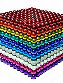 olcso Lány felsők-216/512/1000 pcs 5mm Mágneses játékok mágneses Balls Építőkockák Super Strong ritkaföldfémmágnes Neodímium mágnes Neodímium mágnes Stressz és szorongás oldására Office Desk Toys DIY Gyermek
