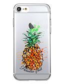 Χαμηλού Κόστους Αξεσουάρ Samsung-tok Για Apple iPhone 7 Plus / iPhone 7 / iPhone 6s Plus Διαφανής / Με σχέδια Πίσω Κάλυμμα Φαγητό / Φρούτα Μαλακή TPU