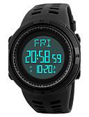 ราคาถูก นาฬิกาดิจิทัล-SKMEI สำหรับผู้ชาย นาฬิกาแนวสปอร์ต นาฬิกาข้อมือ นาฬิกาดิจิตอล ญี่ปุ่น ดิจิตอล PU Leather ดำ / เขียว 50 m กันน้ำ นาฬิกาปลุก ปฏิทิน ดิจิตอล ความหรูหรา ไม่เป็นทางการ - สีดำ สีเขียว / โครโนกราฟ