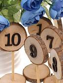 ราคาถูก ของชำร่วยงานแต่งที่แขวน-ทำด้วยไม้ เครื่องประดับ Standing Style 10
