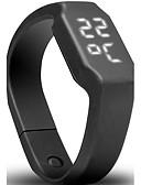 Χαμηλού Κόστους Quartz Ρολόγια-Ανδρικά Γυναικεία Αθλητικό Ρολόι Στρατιωτικό Ρολόι Έξυπνο ρολόι Ψηφιακή Συνθετικό δέρμα με επένδυση Μαύρο / Μπλε / Κόκκινο 30 m Ανθεκτικό στο Νερό Ημερολόγιο Δημιουργικό Ψηφιακό / Βηματόμετρα