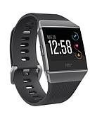 billige Smartwatch Bands-Klokkerem til Fitbit ionic Fitbit Sportsrem Silikon Håndleddsrem