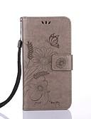 Χαμηλού Κόστους Αξεσουάρ Samsung-tok Για Apple iPhone X / iPhone 8 Plus / iPhone 8 Πορτοφόλι / Θήκη καρτών / με βάση στήριξης Πλήρης Θήκη Λουλούδι Σκληρή PU δέρμα