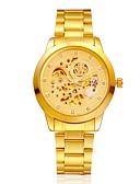 Χαμηλού Κόστους Μηχανικά Ρολόγια-Ανδρικά Γυναικεία Ρολόι Φορέματος Μοδάτο Ρολόι μηχανικό ρολόι Αυτόματο κούρδισμα κράμα Μπάντα