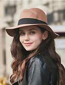 ราคาถูก หมวกสตรี-สำหรับผู้หญิง สีพื้น ฝ้าย Pure Color, ฮารด์แวร์ - หมวกปีกกว้าง