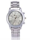 ราคาถูก นาฬิกาควอตซ์-สำหรับผู้ชาย สำหรับผู้หญิง นาฬิกาหรู นาฬิกาแฟชั่น นาฬิกาข้อมือ นาฬิกาอิเล็กทรอนิกส์ (Quartz) โลหะ เงิน / ทอง / Rose Gold นาฬิกาใส่ลำลอง ระบบอนาล็อก เสน่ห์ - สีทอง สีเงิน Rose Gold / หนึ่งปี