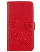 billige Samsung-tilbehør-Etui Til Samsung Galaxy J7(2016) / J5 (2016) / J3 (2016) Lommebok / Kortholder / med stativ Heldekkende etui Blomsternål i krystall Hard PU Leather