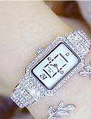povoljno Modni satovi-Žene Luxury Watches Ručni satovi s mehanizmom za navijanje Diamond Watch Japanski Kvarc Nehrđajući čelik Srebro / Zlatna 30 m Casual sat Analog dame Šarm - Zlato Pink