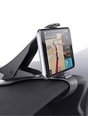 Χαμηλού Κόστους Στηρίγματα και βάσεις τηλεφώνου-Αυτοκίνητο Παγκόσμιο / Κινητό Τηλέφωνο Βάση στήριξης βάσης Ταμπλό Παγκόσμιο / Κινητό Τηλέφωνο Τύπος πόρπης Πλαστική ύλη Κάτοχος