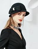olcso Női kalapok-Gyapjú Kentucky Derby Hat / Kalap val vel 1 Különleges alkalom / Party / estély Sisak