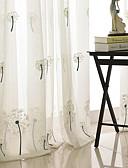 povoljno Ogrtači i odjeća za spavanje-suvremene prozirne zavjese zatvaraju unutarnje dvije spavaće sobe
