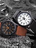 Χαμηλού Κόστους Πολυτελή Ρολόγια-Ανδρικά Στρατιωτικό Ρολόι Ρολόι Καρπού πεδίο παρακολούθησης Χαλαζίας Μαύρο / Λευκή / Καφέ Αναλογικό Αριστο Απλός ρολόι - Πράσινο Μπλε Άσπρο / Μαύρο Ενας χρόνος Διάρκεια Ζωής Μπαταρίας / SSUO 377