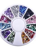 Χαμηλού Κόστους Στρας&Διακοσμητικά-Glitter νυχιών Μοντέρνα Υψηλή ποιότητα Καθημερινά Κοσμήματα