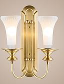 baratos Vestidos para as Mães dos Noivos-ZHISHU Estilo Mini Retro / Vintage / Regional Luminárias de parede Sala de Estar / Quarto Metal Luz de parede IP20 110-120V / 220-240V 5W