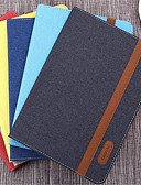 billige Etuier/deksler til Huawei-Etui Til iPad (2017) / iPad Pro 9.7'' / Apple Lommebok / Støtsikker / Auto Sove / Våkne Heldekkende etui Ensfarget Hard PU Leather