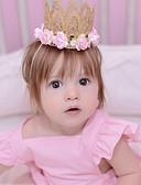 זול ילדים כובעים ומצחיות-מידה אחת ורוד מסמיק אביזרי שיער אחרים בנות פעוטות