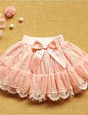 povoljno Suknje za djevojčice-Dijete koje je tek prohodalo Djevojčice Dnevno Jednobojni Pamuk Suknja Blushing Pink / Slatko