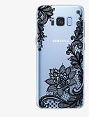 baratos Capinhas para Celulares-Capinha Para Samsung Galaxy S8 Plus / S8 / S7 edge Estampada Capa traseira Lace Impressão Macia TPU