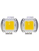 baratos Roupa Intima & Meias para Bebês-2pcs 8000lm Acessório de lâmpada Chip LED Latão 100W