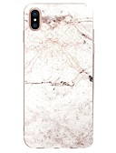 povoljno iPhone maske-Θήκη Za Apple iPhone X / iPhone 8 Plus / iPhone 8 Ultra tanko / Uzorak Stražnja maska Mramor Mekano TPU