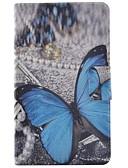 povoljno Maske za mobitele-Θήκη Za Samsung Galaxy Tab 4 7.0 Utor za kartice / sa stalkom / Zaokret Korice Rukav leptir Tvrdo PU koža