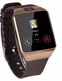 baratos Smart watch-Homens Mulheres Relógio Esportivo Relógio inteligente Relogio digital Automático - da corda automáticamente Silicone Preta Bluetooth Controlo Remoto Cronômetro Digital Casual Quadrado Fashion -