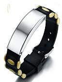 baratos Relógio Esportivo-Homens Pulseira Fashion Plástico Duro Pulseira de jóias Preto / Amarelo / Verde Para Presente Diário
